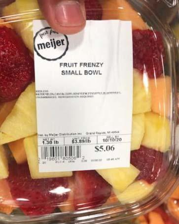 Image – MEIJER FRUIT FRENZY SMALL BOWL