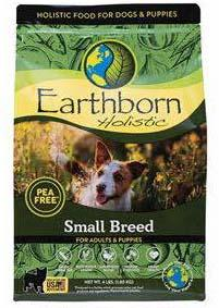 "Image 6. ""Earthborn Holistic Small Breed, front label"""