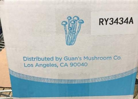 Case: Guan's Enoki Mushroom, Distributor Information and Coding