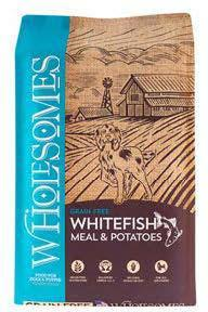 "Image 74. ""Wholesomes, Whitefish Meal & Potatoes, Front Label"""