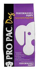 "Image 78. ""Pro Pac Dog, Performance Puppy, Front Label"""