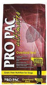 "Image 82. ""Pro Pac Ultimates, Overland Red, Front Label"""