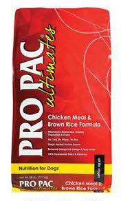 "Image 87. ""Pro Pac Ultimates, Chicken Meal & Brown Rice Formula, Front Label"""