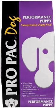PRO PAC Dog, PERFORMANCE PUPPY, Superpremium Puppy Food