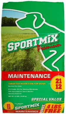 SPORTMIX, Premium, MAINTENANCE, TARGETED NUTRITION FOR DOGS 21 12
