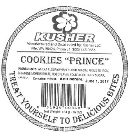 LABEL, COOKIES PRINCE