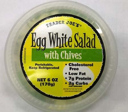 Label- Egg White Salad Top