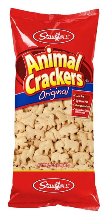 Label, Animal Crackers