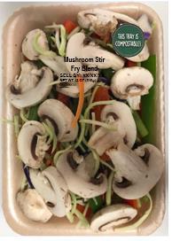 Label, Mushroom Stir Fry Blend
