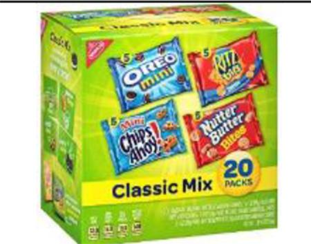 MIXED COOKIE CRACKER VARIETY 20 PACK