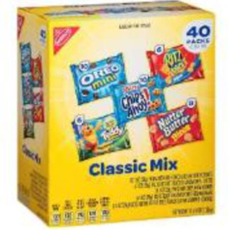 MIXED COOKIE CRACKER VARIETY 40 PACK