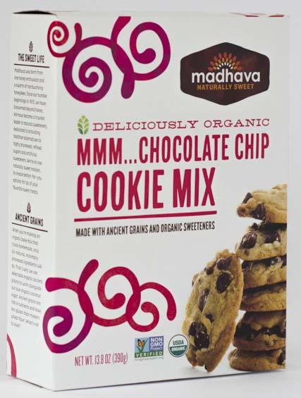 Madhava Naturally Sweet MMM... Chocolate Chip Cookie Mix, 13.8 oz.