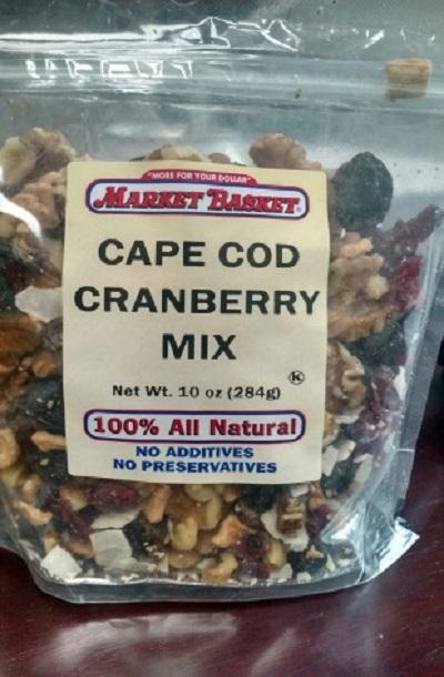 Market Basket Cape Cod Cranberry Mix 10oz.