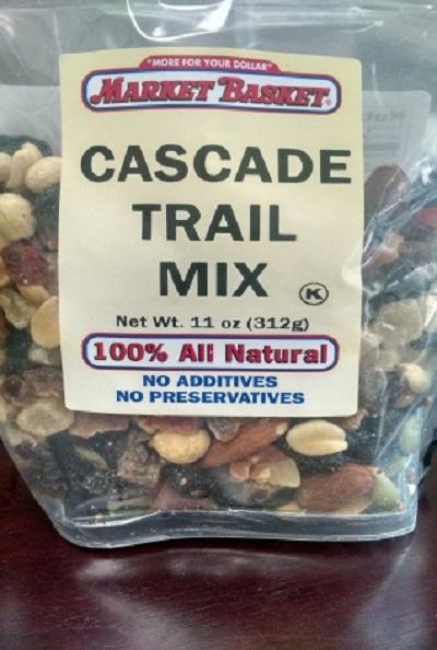 Market Basket Cascade Trail Mix 11oz.