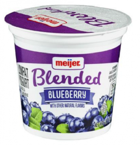 Meijer Blueberry Blended Yogurt.PNG