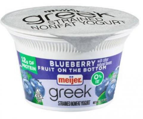 Meijer Recalls Select Meijer Greek and Low Fat Yogurt
