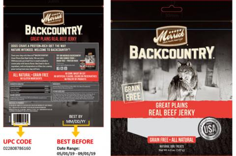 Merrick Backcountry Great Plains Real Beef Jerky 4.5 oz.jpg