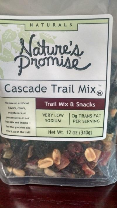 Nature's Promise Cascade Trail Mix 12oz.