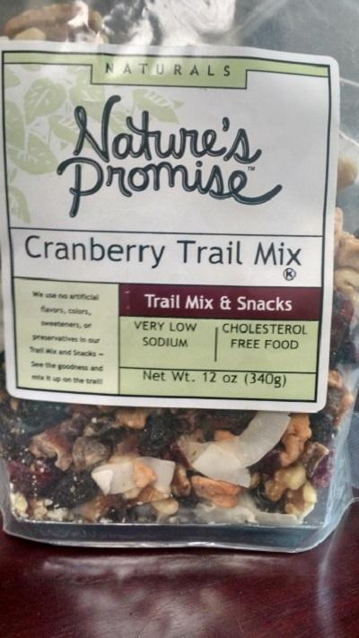 Nature's Promise Cranberry Trail Mix 12oz.