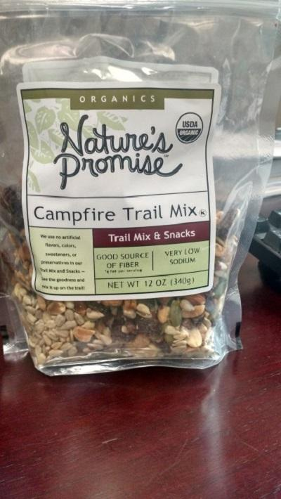Nature's Promise Organic Campfire Trail Mix 12oz.
