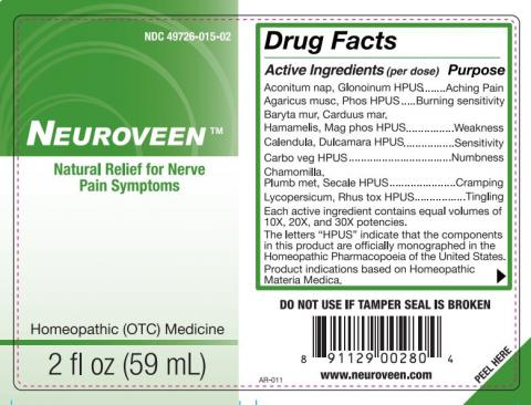 Neuroveen, 2 fl. oz. NDC 49726-015-02