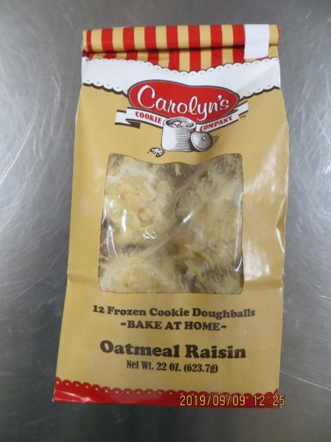 CCC Oatmeal Raisin, Net Wt 22 oz
