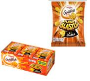 Pepperidge Farm® Goldfish® Flavor Blasted® Xtra Cheddar Crackers, 10.8 oz. Multi-pack Tray, 12- count 0.9 oz. Single-Serve Snack Packs