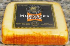 """Lipari Old Tyme Muenster Cheese"""