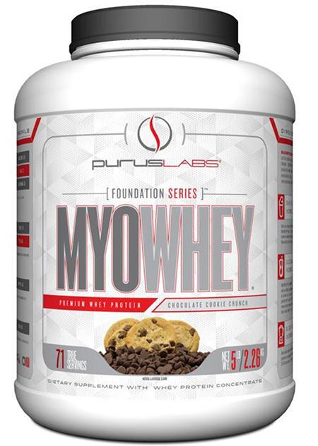 Picture of MyoWhey Chocolate Cookie Crunch dietary supplement