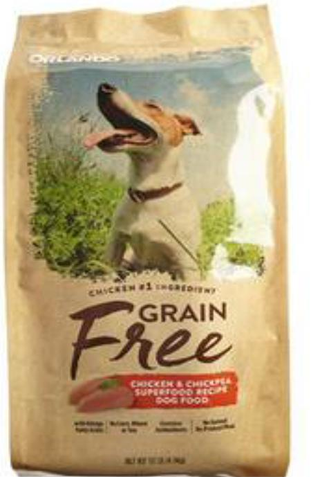 Picture of Orlando Chicken and Chickpea Dog Food
