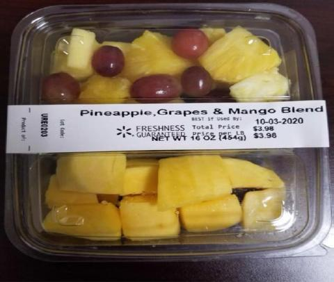 Picture of Pineapple, Grapes and Mango Blend, 16 oz.