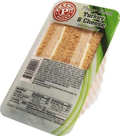 Picture of Premo Brand Turkey and Cheese Wedge Sandwiches