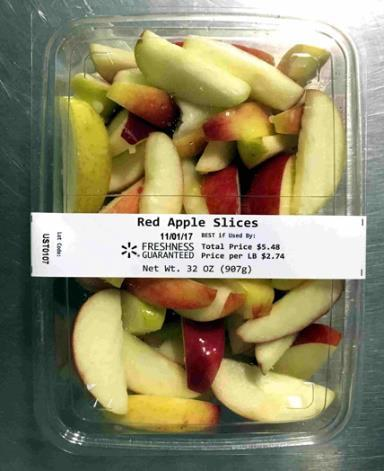 Picture of Red Apple Slices, 32 oz.