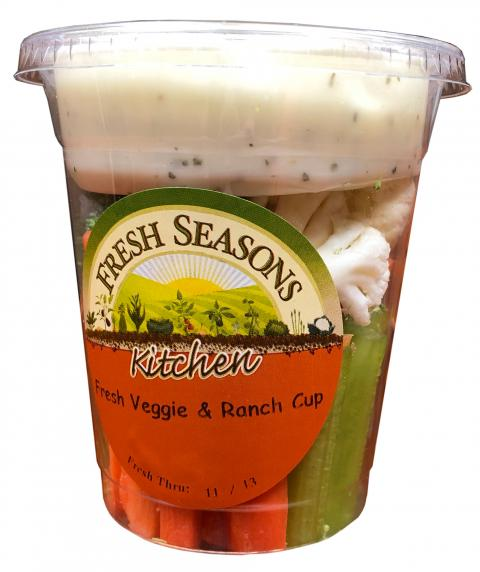 Product image Fresh Seasons Kitchen Fresh Veggie & Ranch Cup