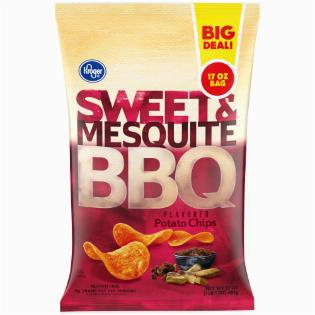 Sweet & Mesquite BBQ Potato Chips