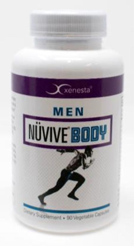 Product Image front, Xenesta Nuvive Men's 90 count bottle