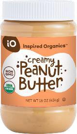 Product image Inspired Organics Organic Peanut Butter 16 oz