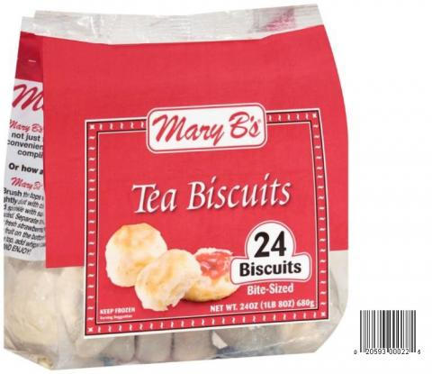 Product image and UPC 2059300022 MARY B's BUTTERMILK TEA BISCUITS 24OZ.jpg
