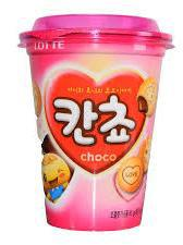 Product image, LOTTE Kancho Choco Biscuit, Cup 98g.jpg