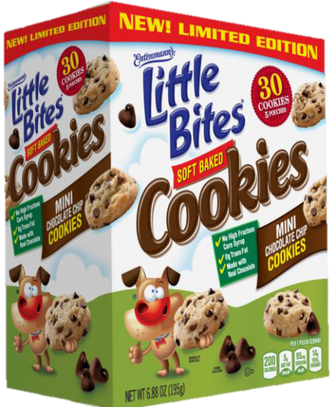 Product image Entenmann's Soft Baked Chocolate Chip Cookies 5 pack box