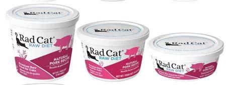 Rad Cat Raw Diet Natural Pork Recipe (8oz, 16oz, 24oz)