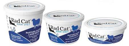 Rad Cat Raw Diet Pasture-Raised Lamb Recipe (8oz, 16oz, 24oz)
