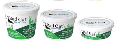 Rad Cat Raw Diet Pasture-Raised Venison Recipe (8oz, 16oz, 24oz)