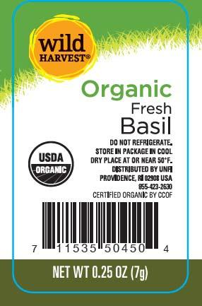 Wild Harvest Organic Fresh Basil, Net Wt 0.25 oz