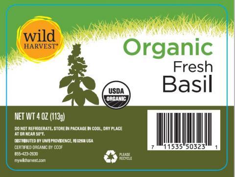 Wild Harvest Organic Fresh Basil Net wt 4oz