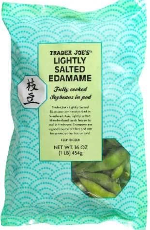 """Picture of Trader Joe's Frozen Salted Edamame"""