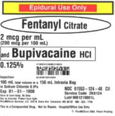 Service code 2K8124, 2 mcgmL Fentanyl Citrate and 0.125% Bupivacaine HCl (Preservative Free) in 0.9% Sodium Chloride.jpg