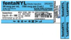 Service code 2R3303-5, 50 mcgmL Fentanyl Citrate (Preservative Free) Injection.jpg