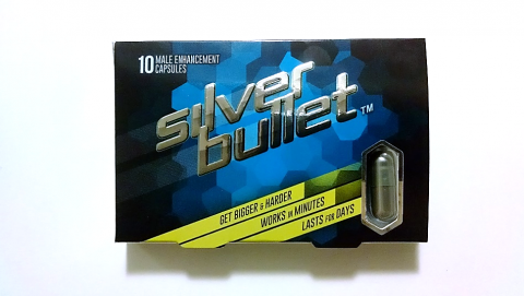 Silver bullet, 10 male enhancement capsules
