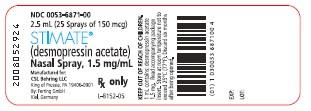 Label, STIMATE® Nasal Spray 1.5 mg/mL
